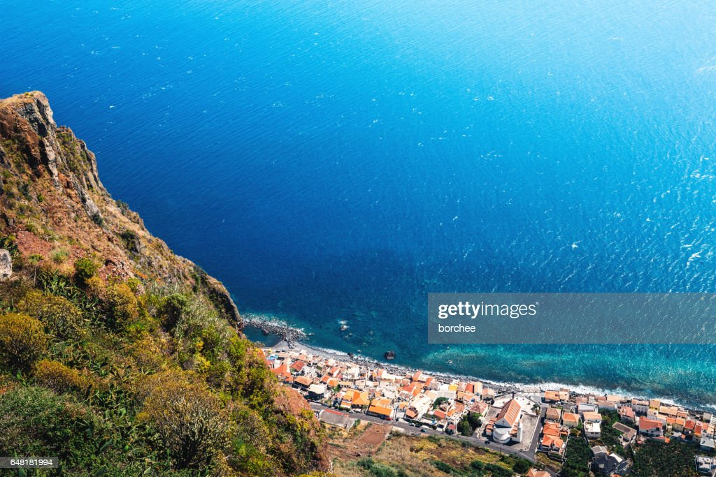 Paul Do Mar, Madeira Island : Stock Photo