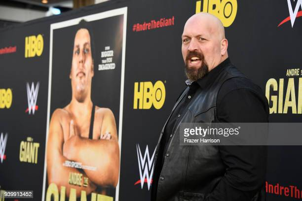 Paul Donald Wight II aka Big Show attends the Premiere Of HBO's 'Andre The Giant' at The Cinerama Dome on March 29 2018 in Los Angeles California