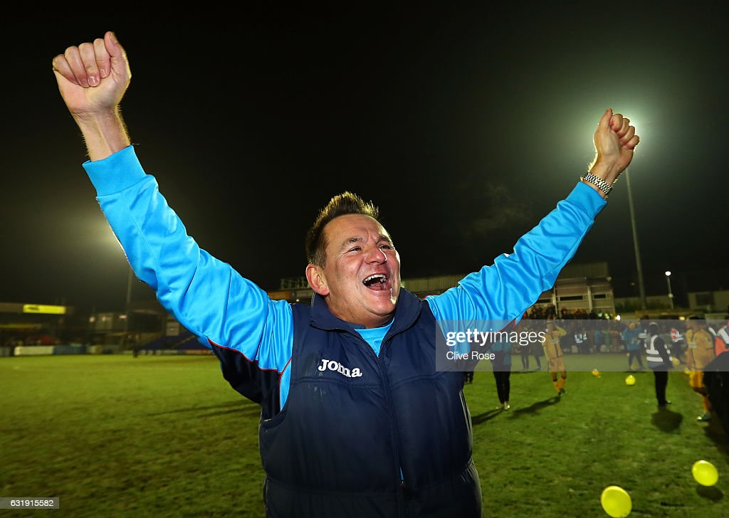 AFC Wimbledon v Sutton United - The Emirates FA Cup Third Round Replay : News Photo