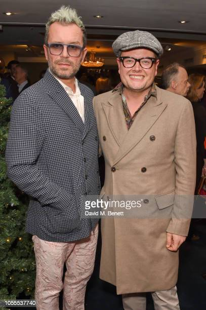 Paul Drayton and Alan Carr attend the Leopards' Prince's Trust Mentorship Programme Winners Champagne Reception at Fortnum Mason on October 30 2018...