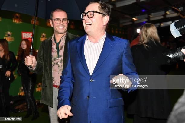 Paul Drayton and Alan Carr attending the opening night of the Boy In The Dress at the Royal Shakespeare Company in Stratford Upon Avon