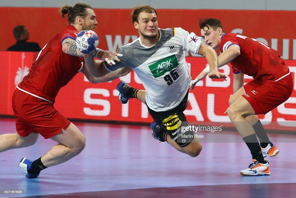 Germany v Czech Republic - EHF Euro Croatia 2018