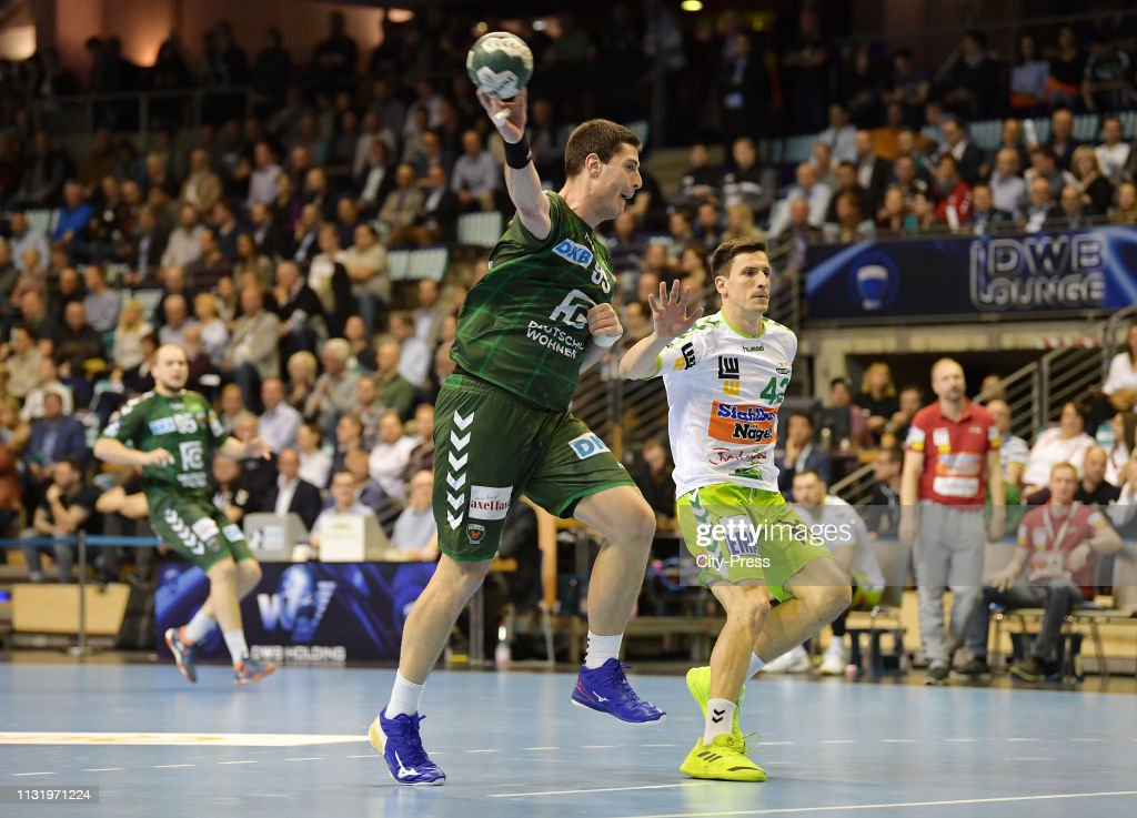 DEU: Fuechse Berlin vs FRISCH AUF! Goepingen - Handball Bundesliga