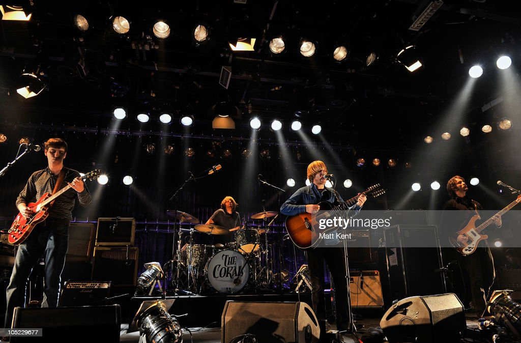 Barclaycard Mercury Prize Session with The Coral and The Joy Formidable : News Photo