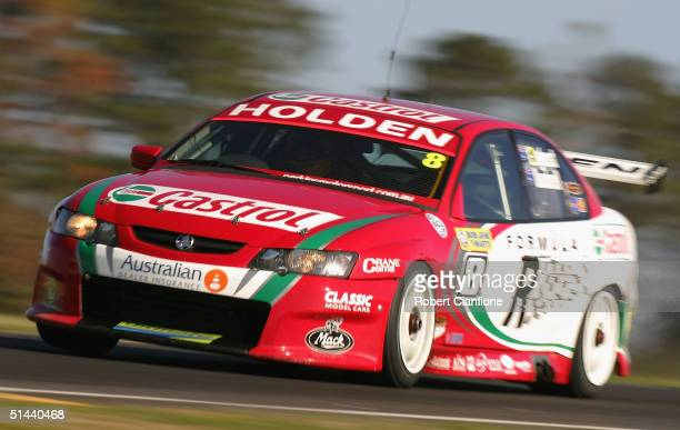 Paul Dumbrell of the Castrol Perkins Motorsport Team in action during qualifying for the Bathurst 1000 which is round ten of the 2004 V8 Supercar...