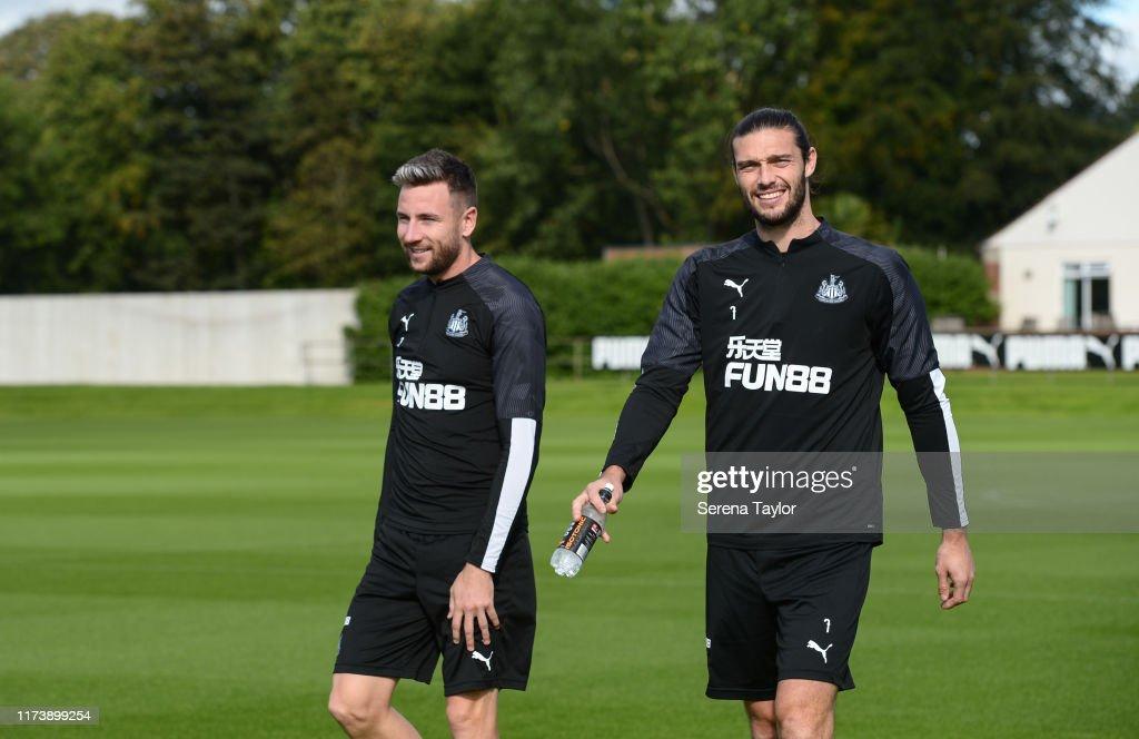 Newcastle United Training Session : ニュース写真