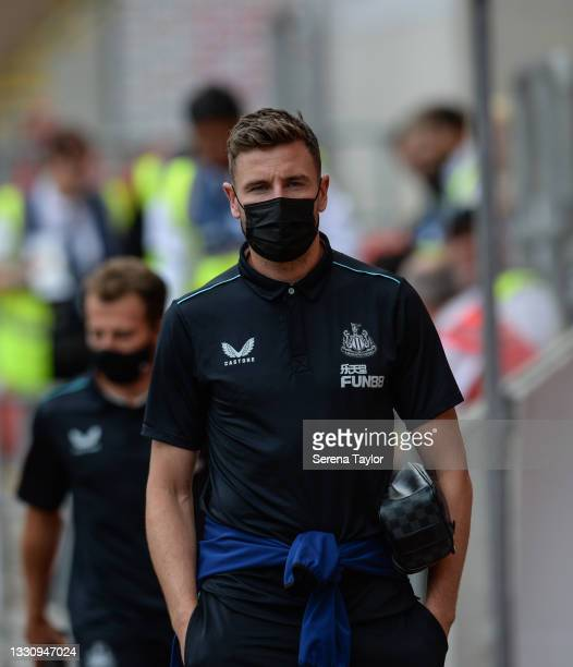 Paul Dummett of Newcastle United FC during the Pre Season Friendly between Rotherham United and Newcastle United at AESSEAL New York Stadium on July...