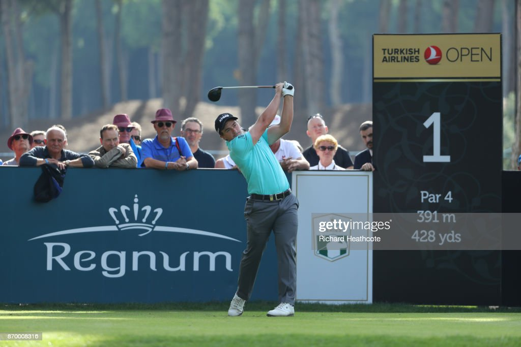 Turkish Airlines Open - Day Three : News Photo