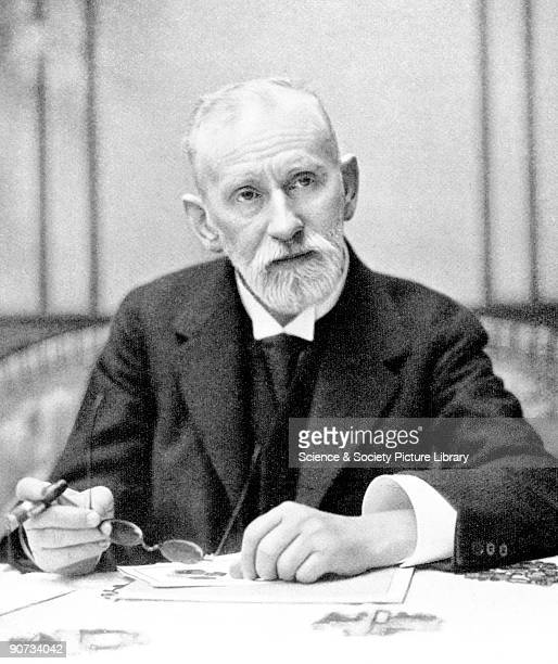 Paul Ehrlich pioneer of haematology and immunology pictured at his desk Graduating from Leipzig in 1878 Ehrlich discovered the mast cells in blood...