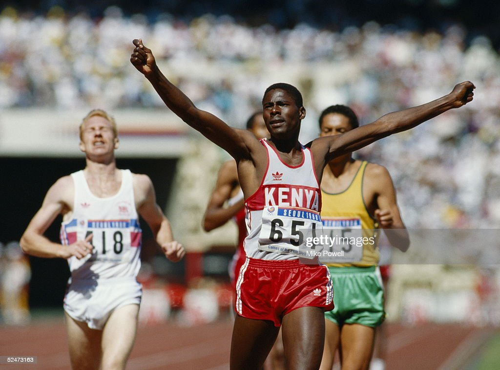 Paul Ereng of Kenya... : News Photo