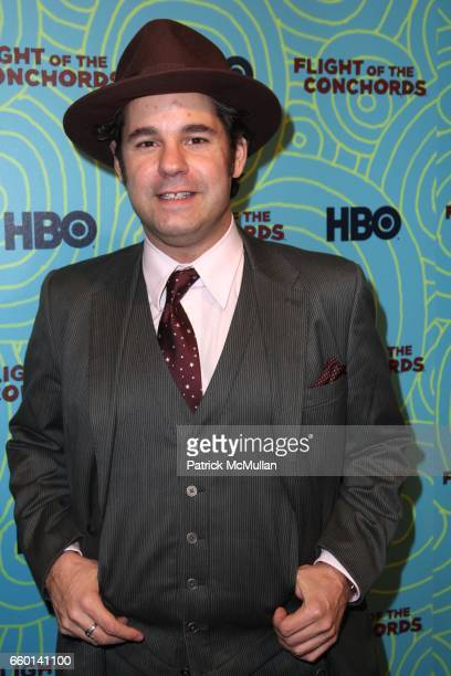 Paul F Tompkins attends HBO Hosts a the 2nd Season Viewing Party of FLIGHT OF THE CONCHORDS at Angel and Orensanz Foundation on January 26 2009 in...