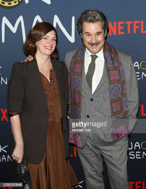 Paul F Tompkins attends the Los Angeles premiere of Netflix's Bojack Horseman Season 6 held at the Egyptian Theatre on January 30 2020 in Hollywood...