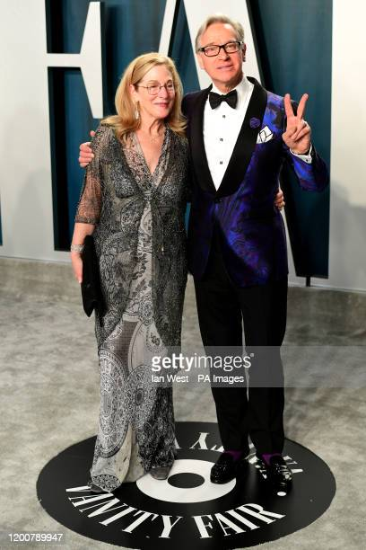 Paul Feig and Laurie Feig attending the Vanity Fair Oscar Party held at the Wallis Annenberg Center for the Performing Arts in Beverly Hills, Los...