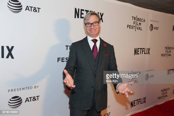 Paul Feig arrives for Tribeca Talks Paul Feig during the 2017 Tribeca Film Festival at Cinepolis Chelsea on April 25 2017 in New York City
