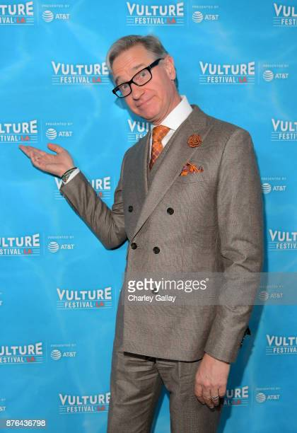 Paul Feig attends 'Paul Feig Good One Podcast Live' event during Vulture Festival LA presented by ATT at Hollywood Roosevelt Hotel on November 19...