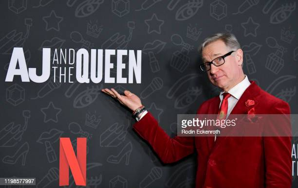 Paul Feig attends Premiere of Netflix's AJ and the Queen Season 1 at the Egyptian Theatre on January 09 2020 in Hollywood California