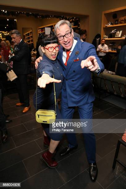 Paul Feig attends the JCrew Paul Feig team up for JCrew's Holiday by You Event on December 7 2017 in Los Angeles California
