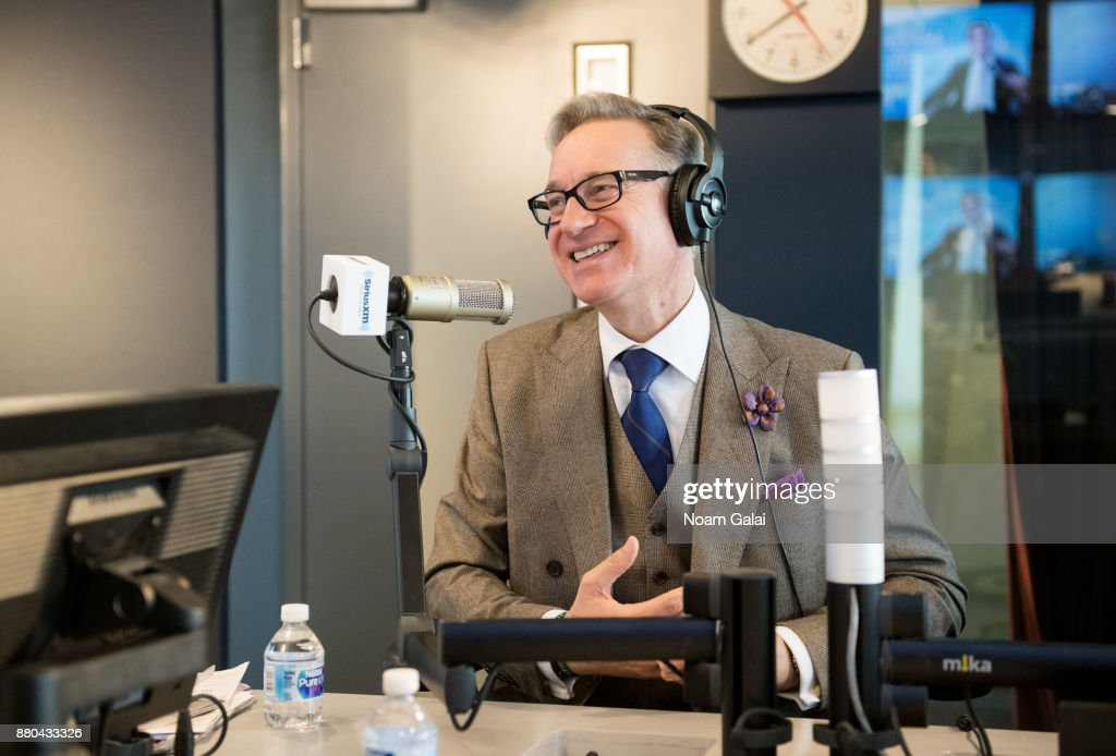 Paul Feig visits SiriusXM's 'Radio Andy' at the SiriusXM Studios on November 27, 2017 in New York City.
