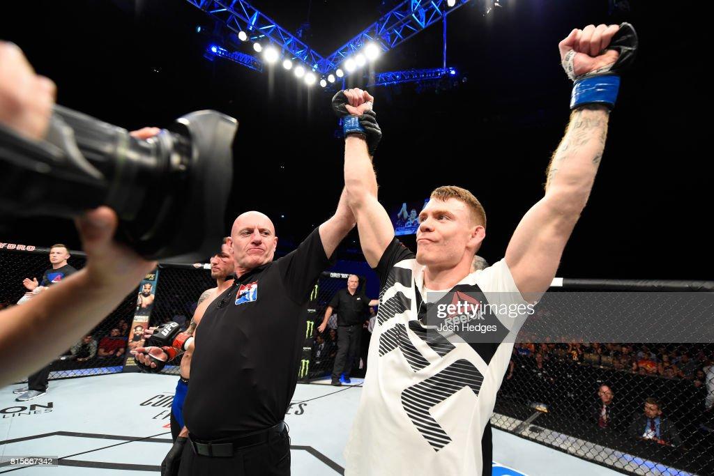 UFC Fight Night: Ray v Felder : News Photo