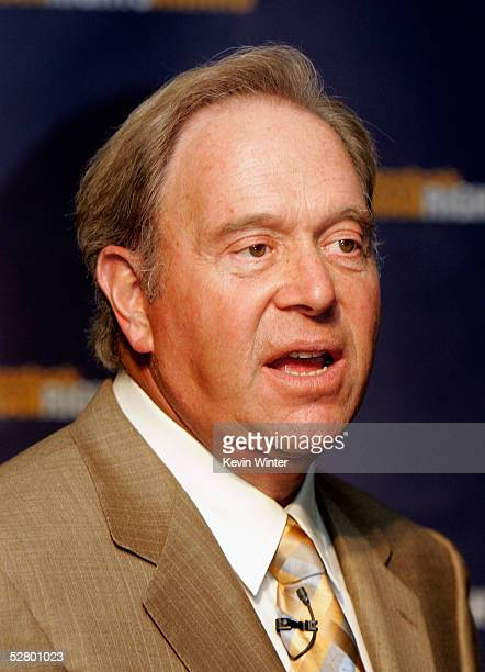 Paul Fireman Chairman and CEO Reebok International LTD appears at the 2005 Reebok Human Rights Awards in Royce Hall at UCLA on May 11 2005 in Los...