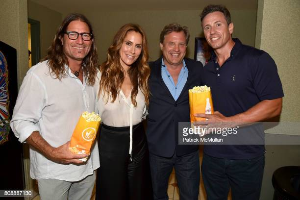 Paul Forsman Cristina Greeven Cuomo Michael Mailer and Chris Cuomo attend The Hamptons Premiere of Blind Arrivals at UA Southampton Cinemas on July 2...