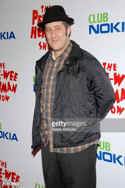 Paul Frank attends The Pee Wee Herman Show Opening Night at Club Nokia on January 20 2010 in Los Angeles California