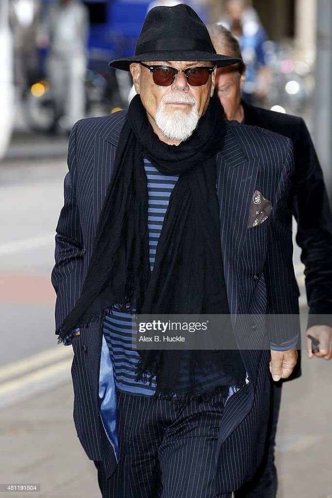 Gary Glitter Attends Court - June 25, 2014 : News Photo