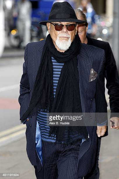 Paul Gadd aka Gary Glitter arrives at Southwark Crown Court on June 25 2014 in London England Gary Glitter is attending court on sex offence charges...