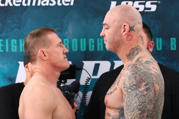 AUS: Gallen v Browne: Weigh In