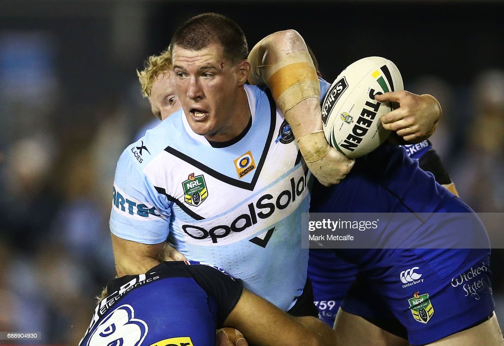 NRL Rd 12 - Sharks v Bulldogs