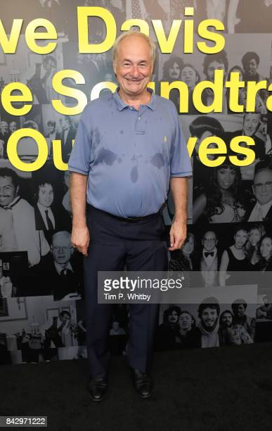 Paul Gambaccini arrives for the Clive Davis 'Soundtrack Of Our Lives' special screening at The Curzon Mayfair on September 5 2017 in London England