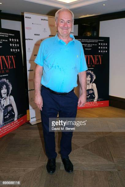 """Paul Gambaccini attends a special screening of """"Whitney: Can I Be Me?"""" at The Mayfair Hotel on June 13, 2017 in London, England."""