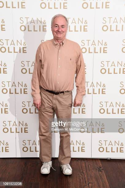 Paul Gambaccini attends special preview screening of Stan & Ollie at Soho Hotel on January 08, 2019 in London, England.