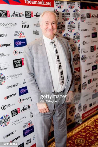 Paul Gambaccini attends the Americana Awards 2020 at Troxy on January 30, 2020 in London, England.