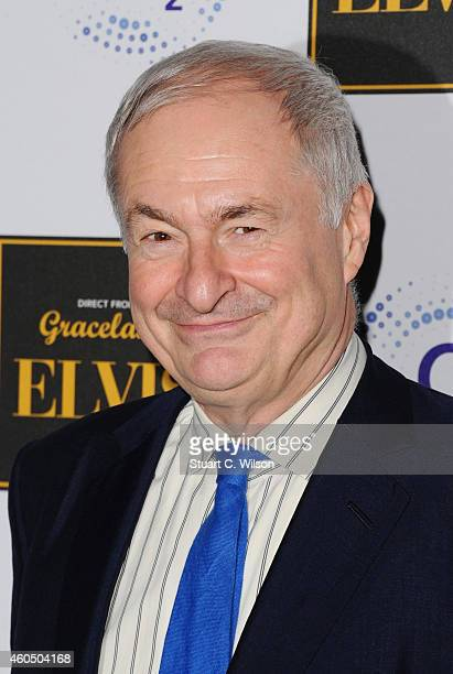 Paul Gambaccini attends the 'Elvis at the 02' exhibition at 02 Arena on December 15, 2014 in London, England.