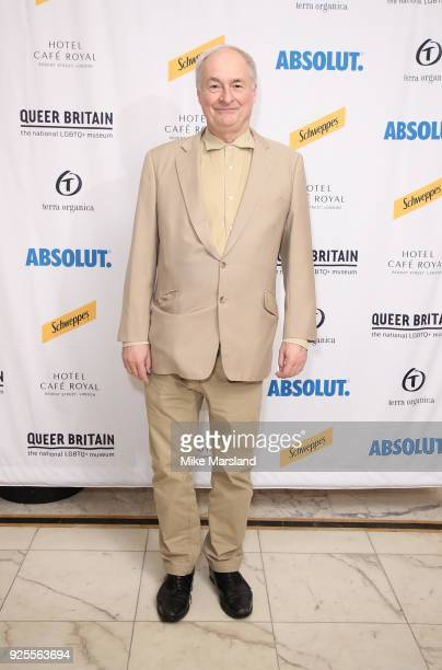 Paul Gambaccini attends the launch of the Queer Briain National LGBTQ+ Museum at Cafe Royal on February 28, 2018 in London, England.