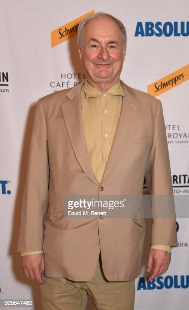 Paul Gambaccini attends the Queer Britain National LGBTQ+ Museum reception at Cafe Royal on February 28, 2018 in London, England.