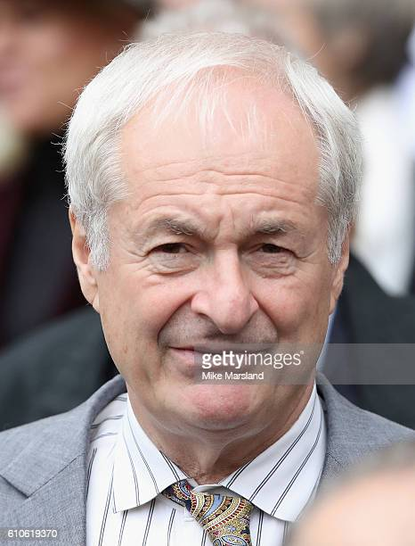 Paul Gambaccini leaves a memorial service for the late Sir Terry Wogan at Westminster Abbey on September 27, 2016 in London, England.