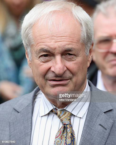Paul Gambaccini leaves a memorial service for the late Sir Terry Wogan at Westminster Abbey on September 27 2016 in London England