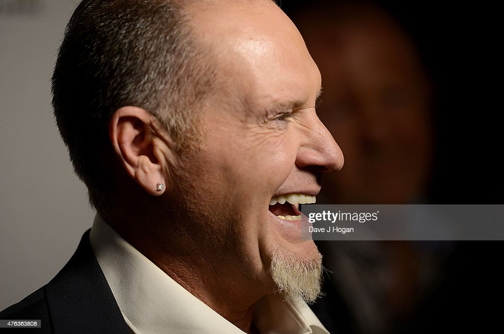 Paul Gascoigne attends the Premiere of 'Gascoigne' at Ritzy Brixton on June 8, 2015 in London, England.