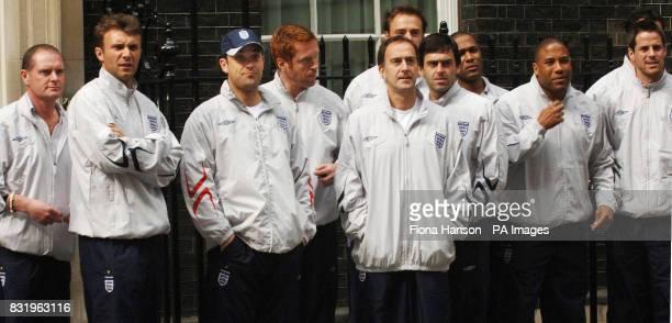Paul Gascoigne, Jonathan Wilkes, Robbie Williams, Damian Lewis, Angus Deayton Jamie Theakston, Ronnie O'Sullivan, Les Ferdinand, John Barnes and...