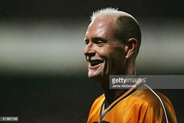 Paul Gascoigne of Boston United in action during the Carling Cup second round match between Boston United and Fulham on September 22 2004 at York...