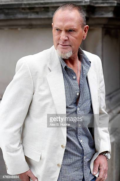 Paul Gascoigne seen at the Langham Hotel on June 8 2015 in London England