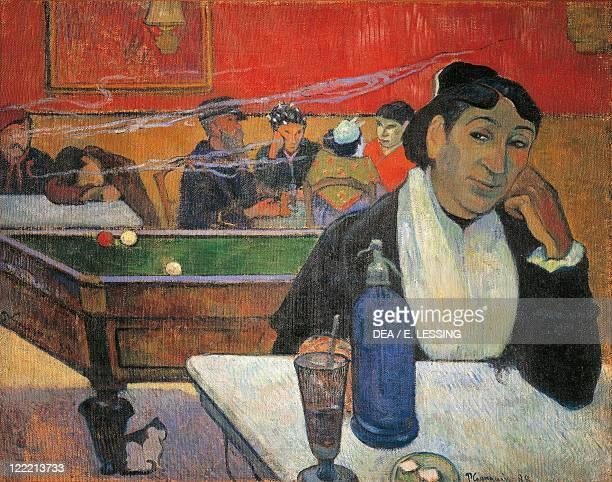Paul Gauguin At the Café oil on canvas