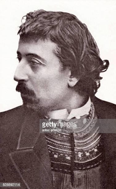 Paul Gauguin , French painter born in Paris . Ca. 1891.