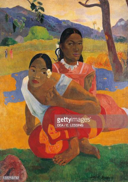 Paul Gauguin , Nafea Faaipoipo oil on canvas.