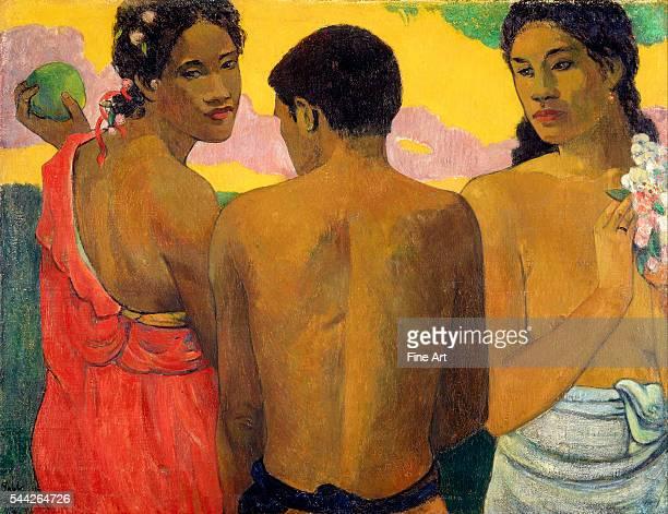 Paul Gauguin , Three Tahitians oil on canvas, 73 x 94 cm , National Gallery of Scotland.
