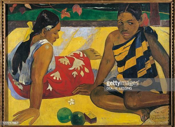 Paul Gauguin Two Tahitian Women