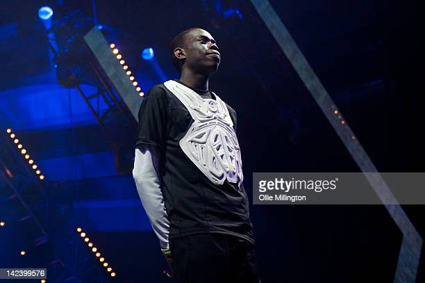 Paul Gbegbaje Britains Got Talent pianist Paul Gbegbaje performs with Diversity during the 2012 Digitized Trapped In a Game Tour on stage at...
