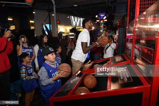 """Paul George and the Paul George Foundation host his 3rd Annual """"Paul George Christmas Celebration"""" for ten local families who have been impacted by a..."""